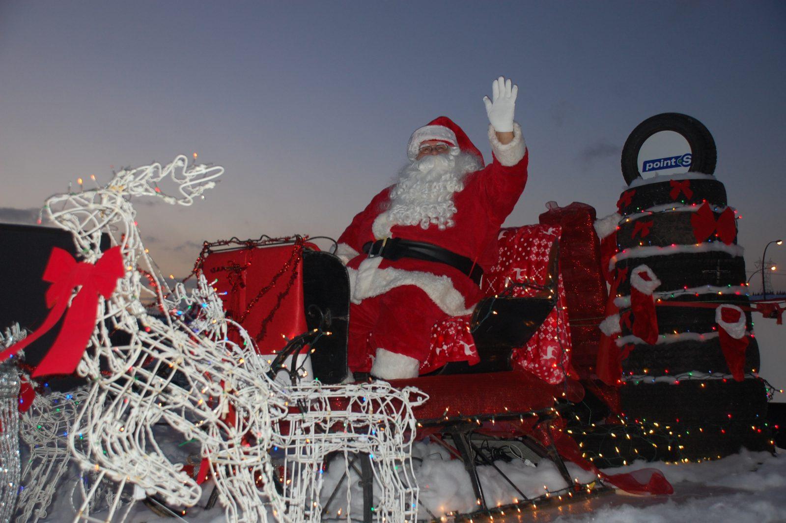 Défilé du Père Noël à Port-Cartier ce week-end