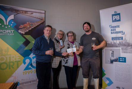 La Compagnie et le Port de Sept-Îles versent 2 000$ à l'Envol