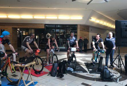 Des cyclistes moulineront au profit de l'Élyme des sables
