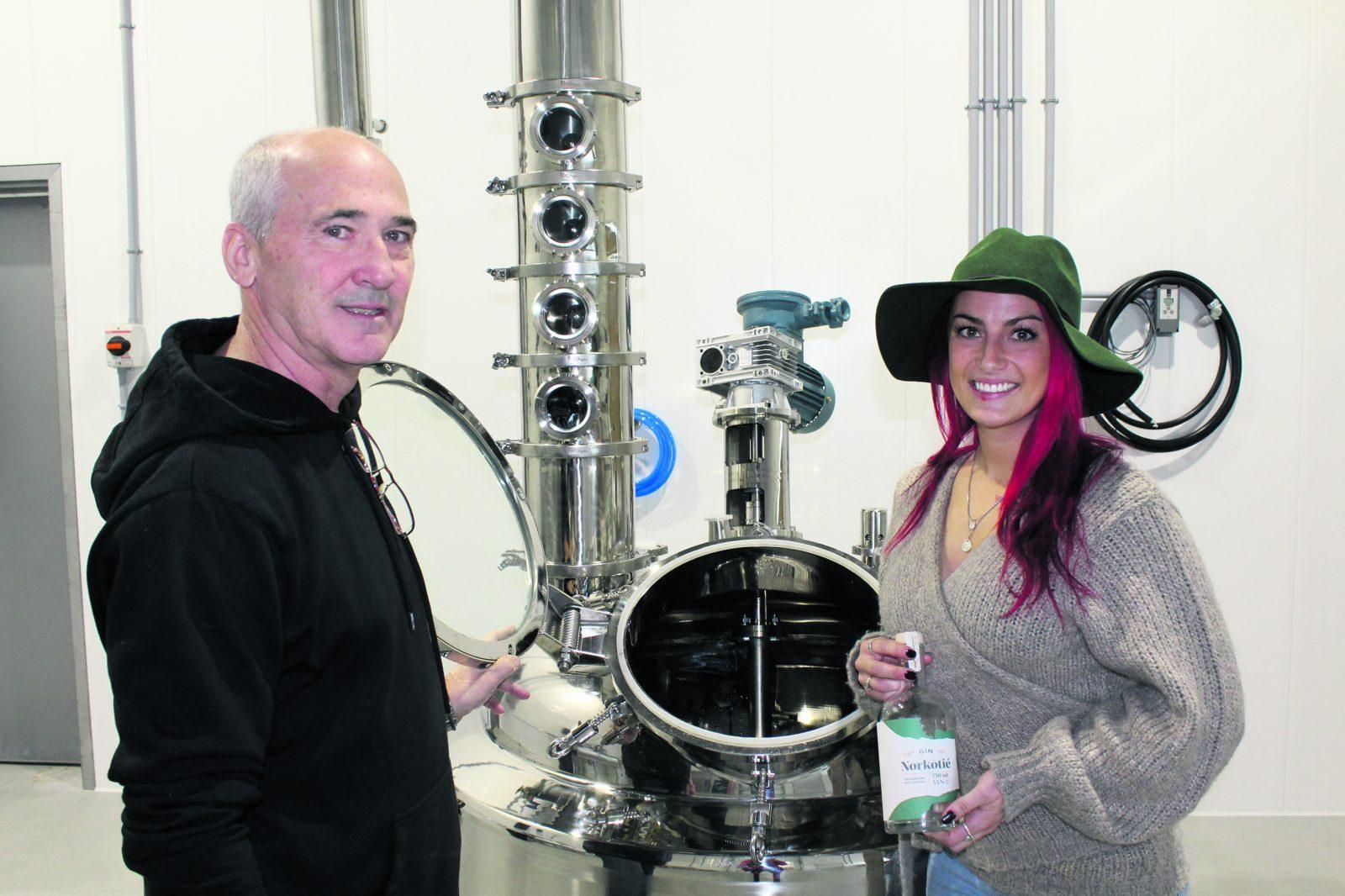La distillerie Vent du Nord sortira bientôt son gin
