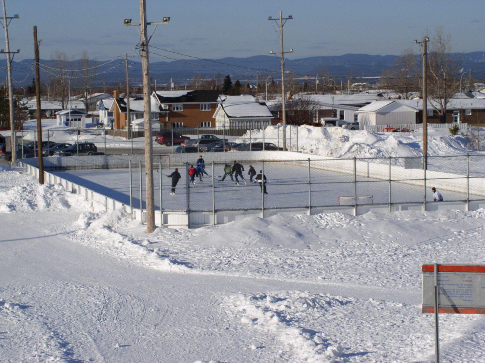 Encore un peu de patience pour les patinoires extérieures