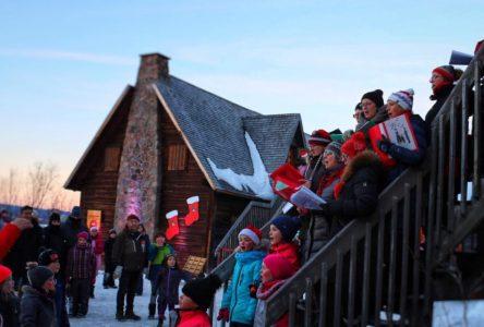 La magie de Noël se transporte au Vieux-Poste de Sept-Îles