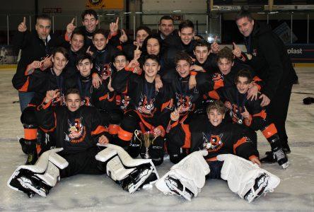 Les équipes de Sept-Îles sacrées cinq fois au 60e Tournoi de hockey mineur de Baie-Comeau