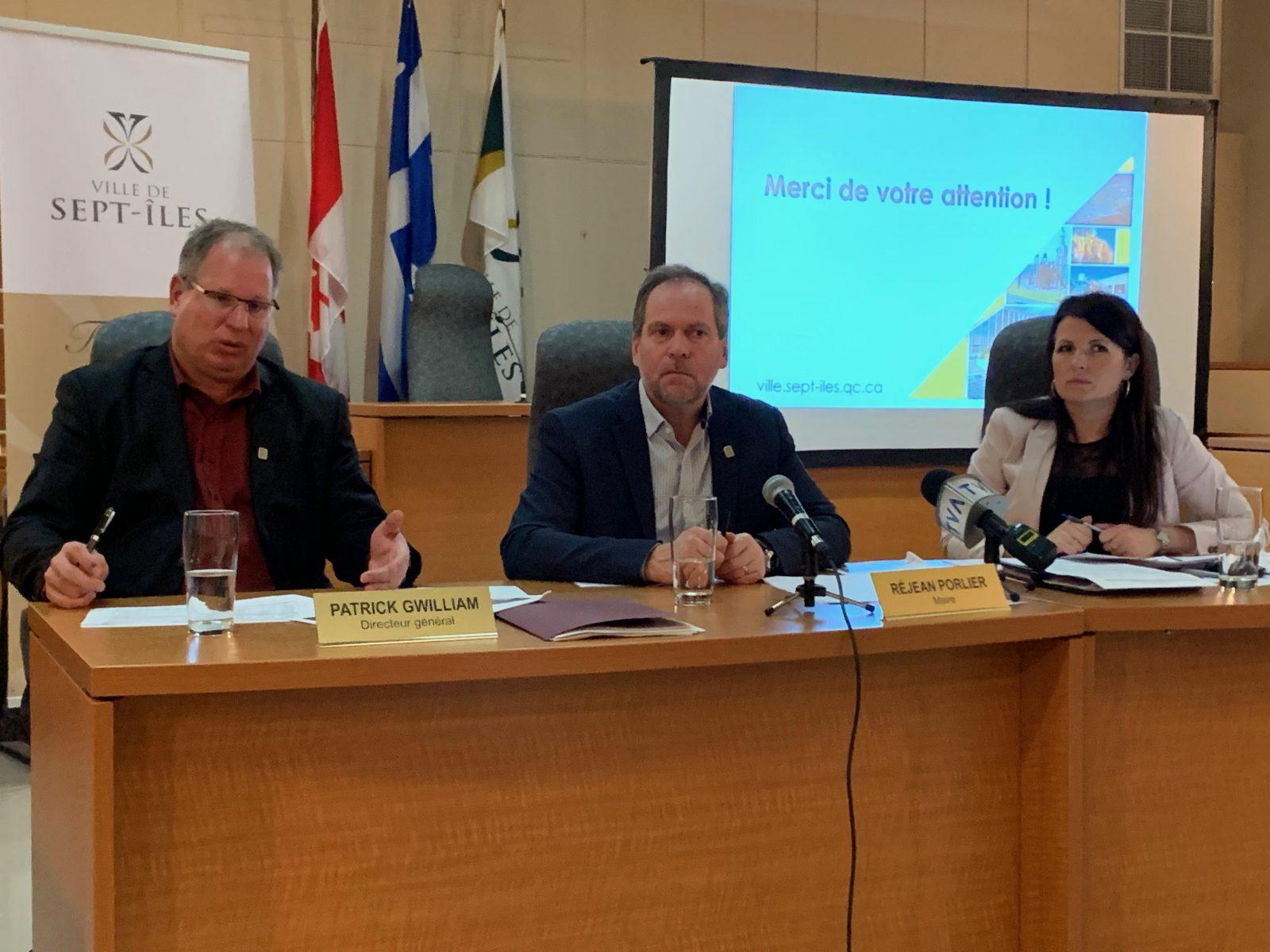 Prévisions budgétaires : Sept-Îles augmente son budget et ses taxes