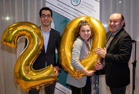 Commerce international Côte-Nord souligne ses 20 ans