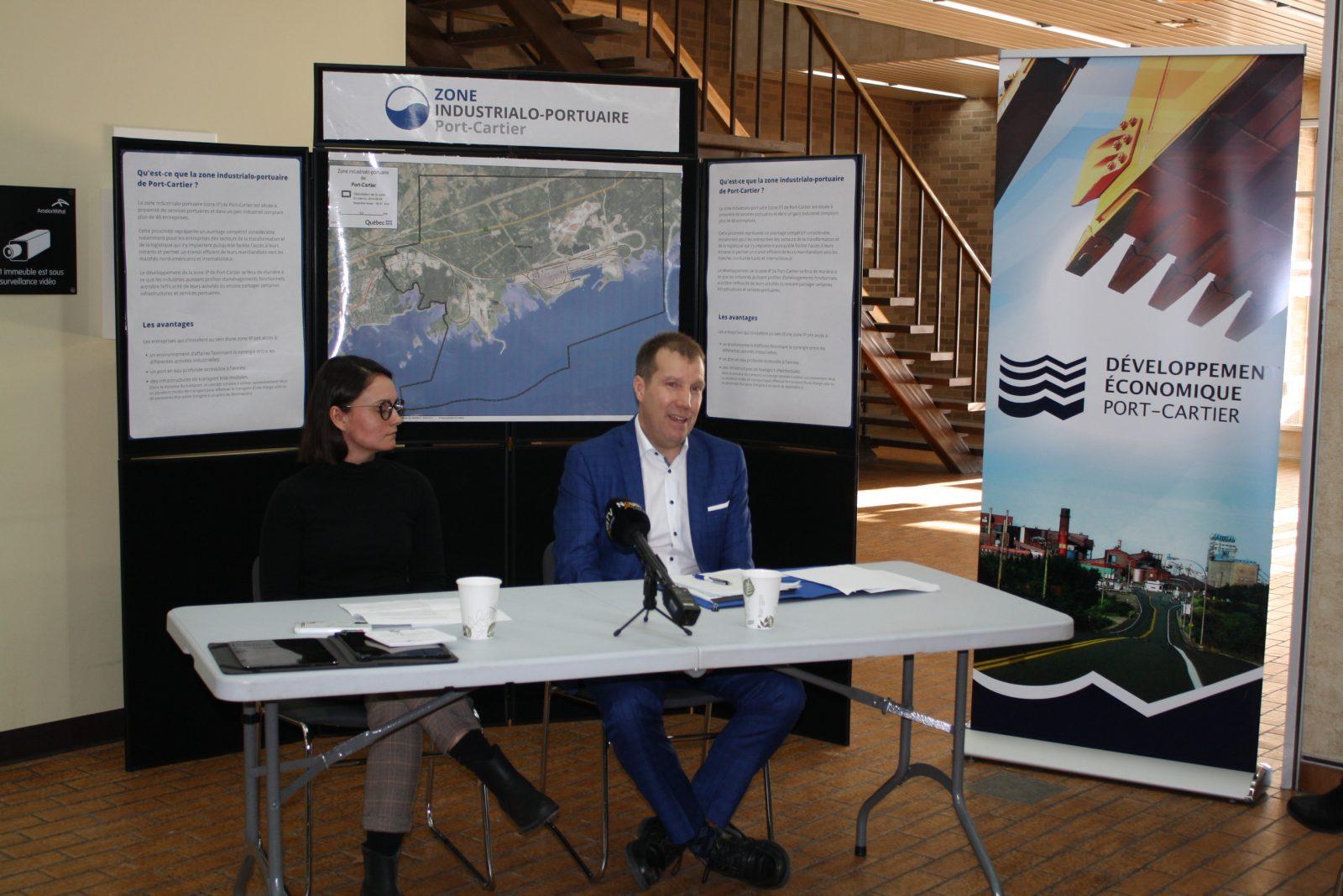 Une consultation citoyenne amorcée pour la zone industrialo-portuaire de Port-Cartier