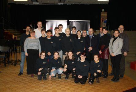 La concentration musique de l'école Jean-du-Nord reçoit une précieuse aide financière