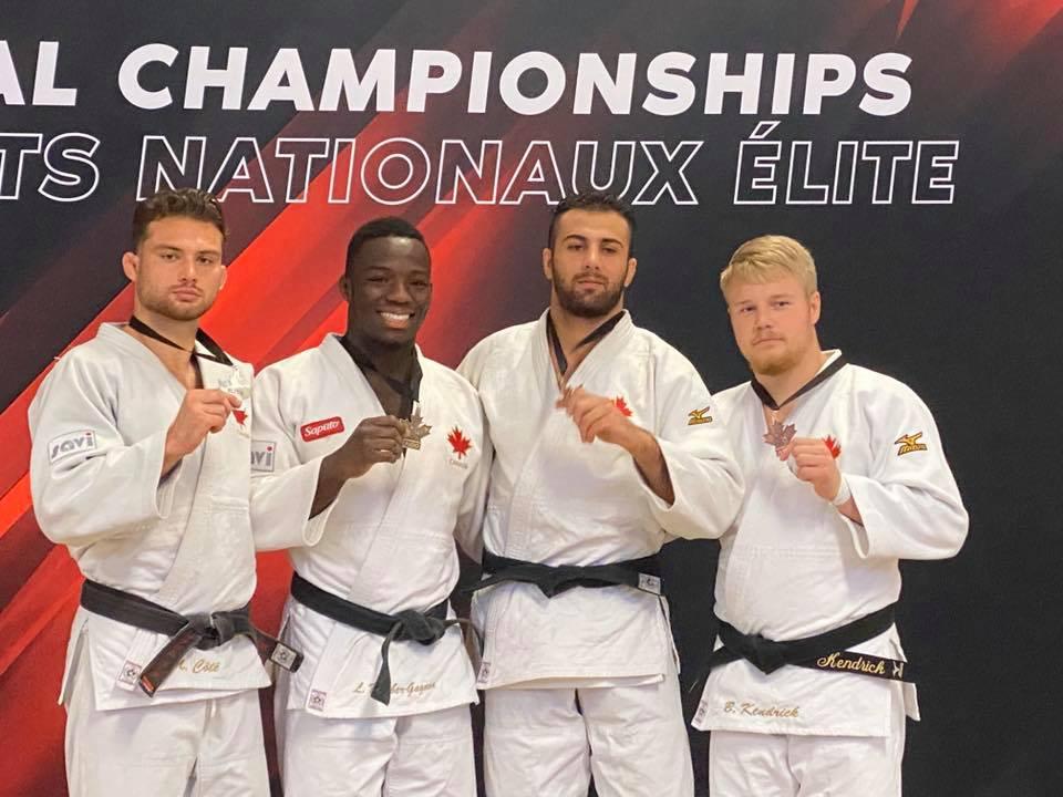Côté et Coulombe gagnent une médaille aux Championnats canadiens élites