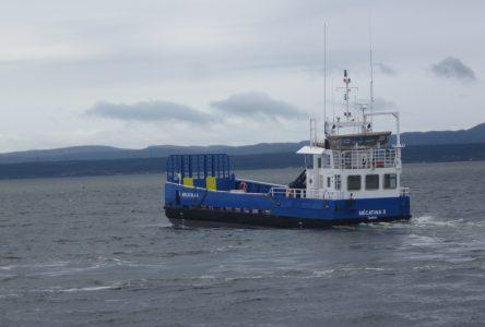 Reprise du service de transport des marchandises pour le NM Mécatina II