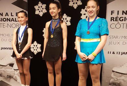 Plusieurs patineuses se qualifient pour les compétitions provinciales