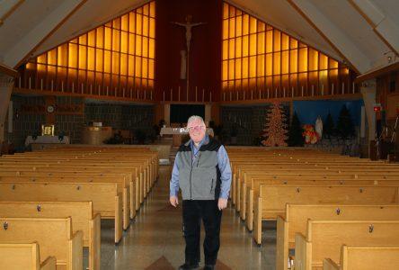 Réjean Vigneault, un prêtre attentionné et accueillant