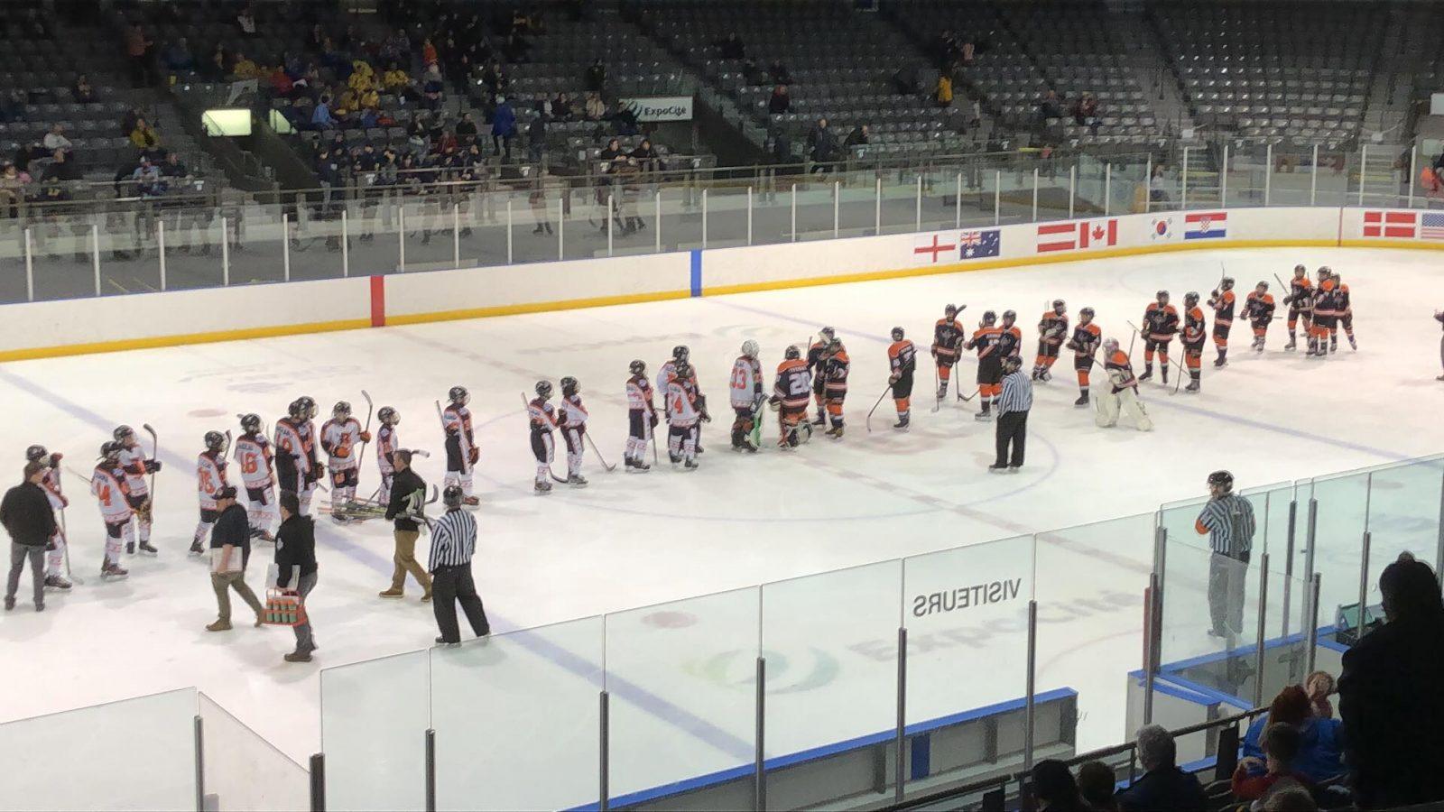 Tournoi international de hockey pee-wee de Québec : les Basques de Sept-Îles peuvent sortir la tête haute