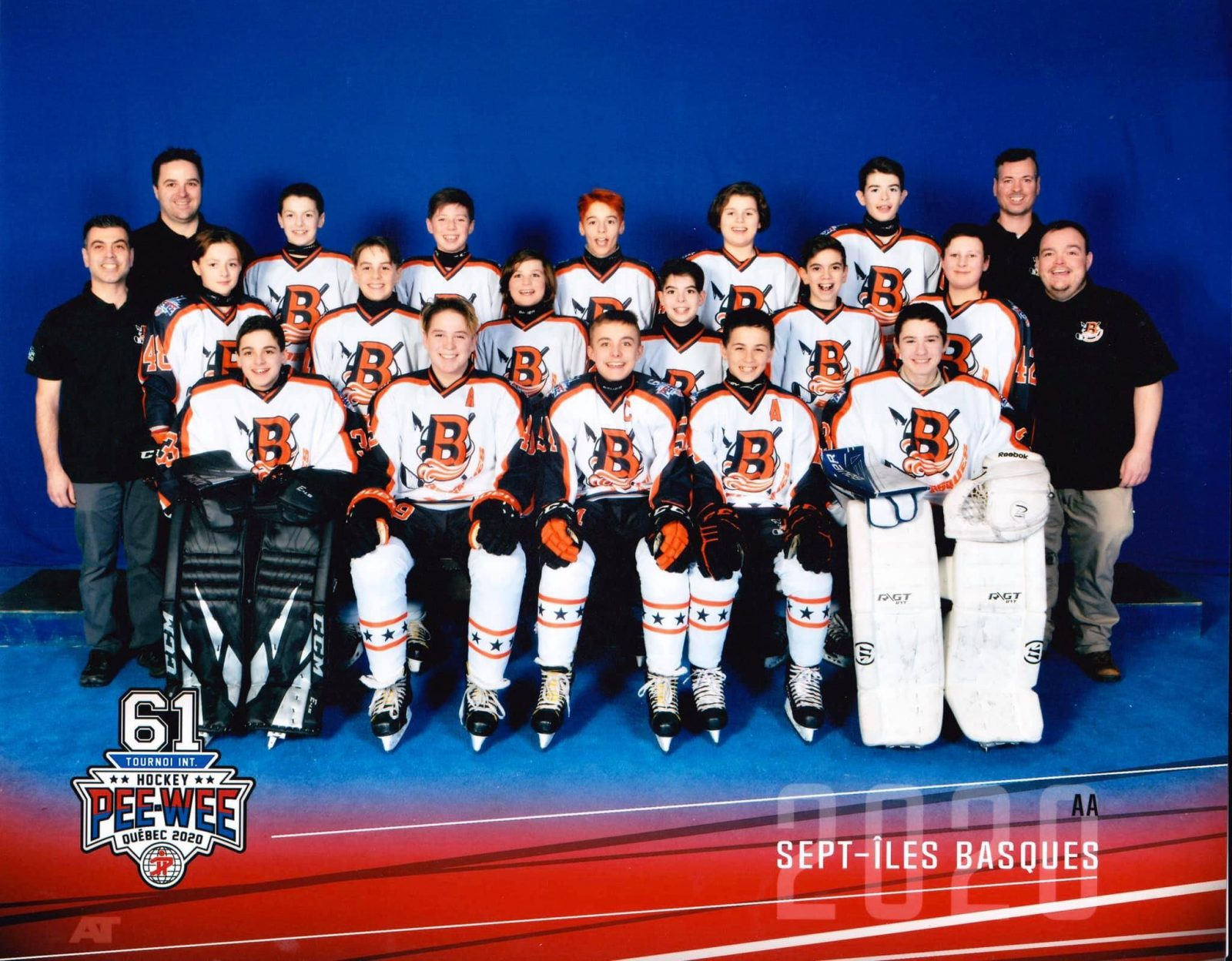 Les Basques garderont de précieux souvenirs de leur participation au Tournoi international de hockey pee-wee de Québec