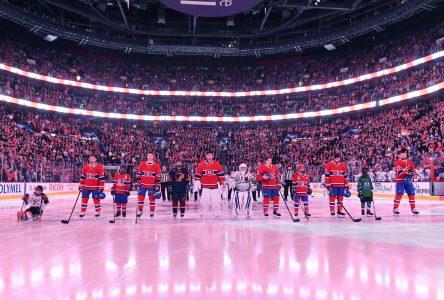 Zach-Alexandre Mestokosho aux côté de Carey Price pour <i>Le Hockey est pour tout le monde</i>