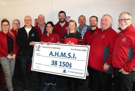Le Club Optimiste laisse un dernier héritage à l'Association du hockey mineur de Sept-Îles