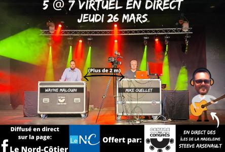 Un 5 à 7 virtuel tout en musique