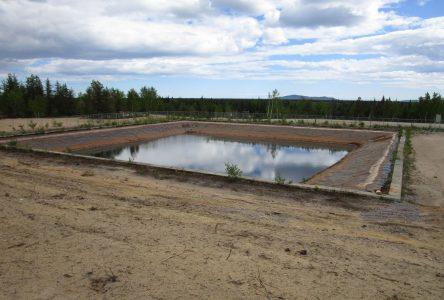 1,4 million $ pour un bassin de rétention des eaux