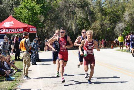 Charles Paquet lance sa saison de triathlon avec une sixième place