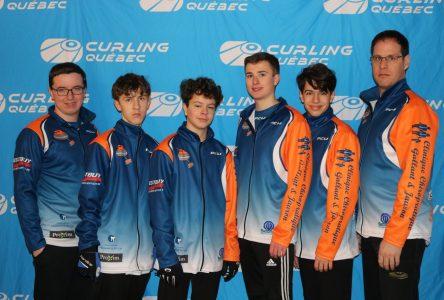 Équipe Jauron rafle l'or aux Inter-Jeux 2020 de curling