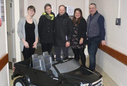 Une troisième voiturette électrique à l'Hôpital régional Sept-Îles