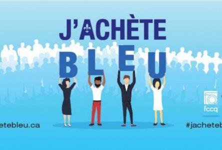 COVID-19 : Lancement de la campagne J'achète Bleu