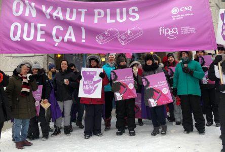Garderies en milieu familial : grève générale le 1er avril