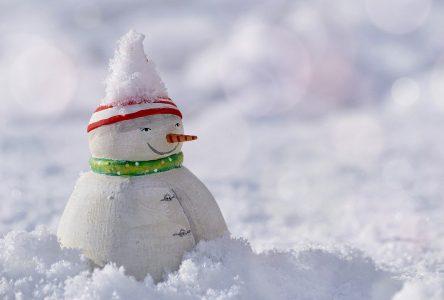 De la neige et des vents plus tôt que prévu!
