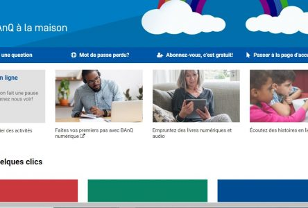 COVID-19 : La demande explose pour les services en ligne de BAnQ