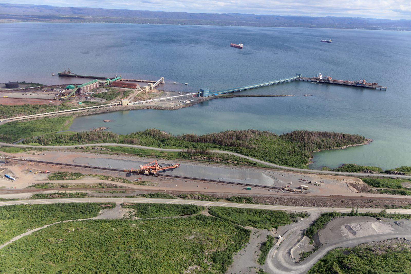 Un premier trimestre record au Port de Sept-Îles