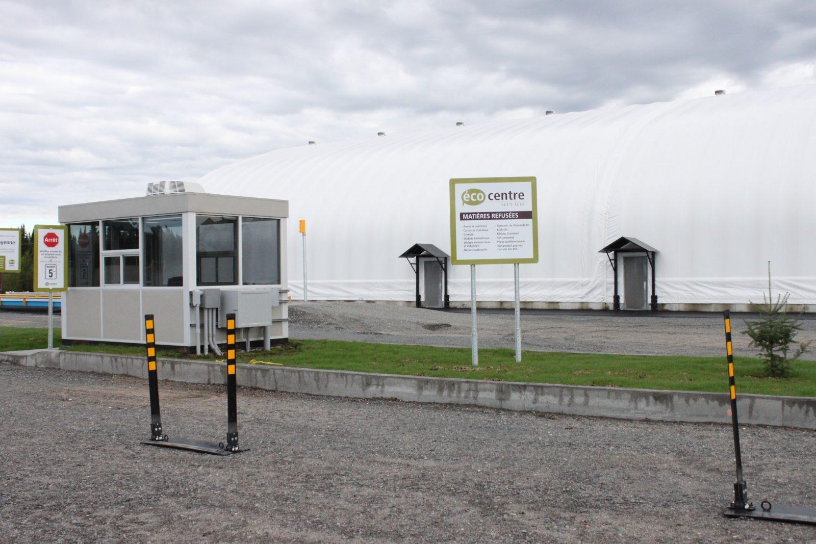 COVID-19 : La Ville de Sept-Îles réduit ses services à l'écocentre et au lien d'enfouissement technique