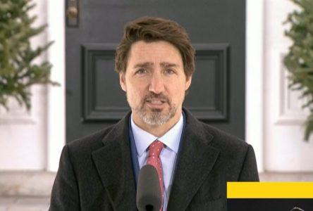 Justin Trudeau fait appel au civisme des citoyens