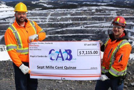 Minganie : plus de 7 000 $ pour le Centre d'action bénévole
