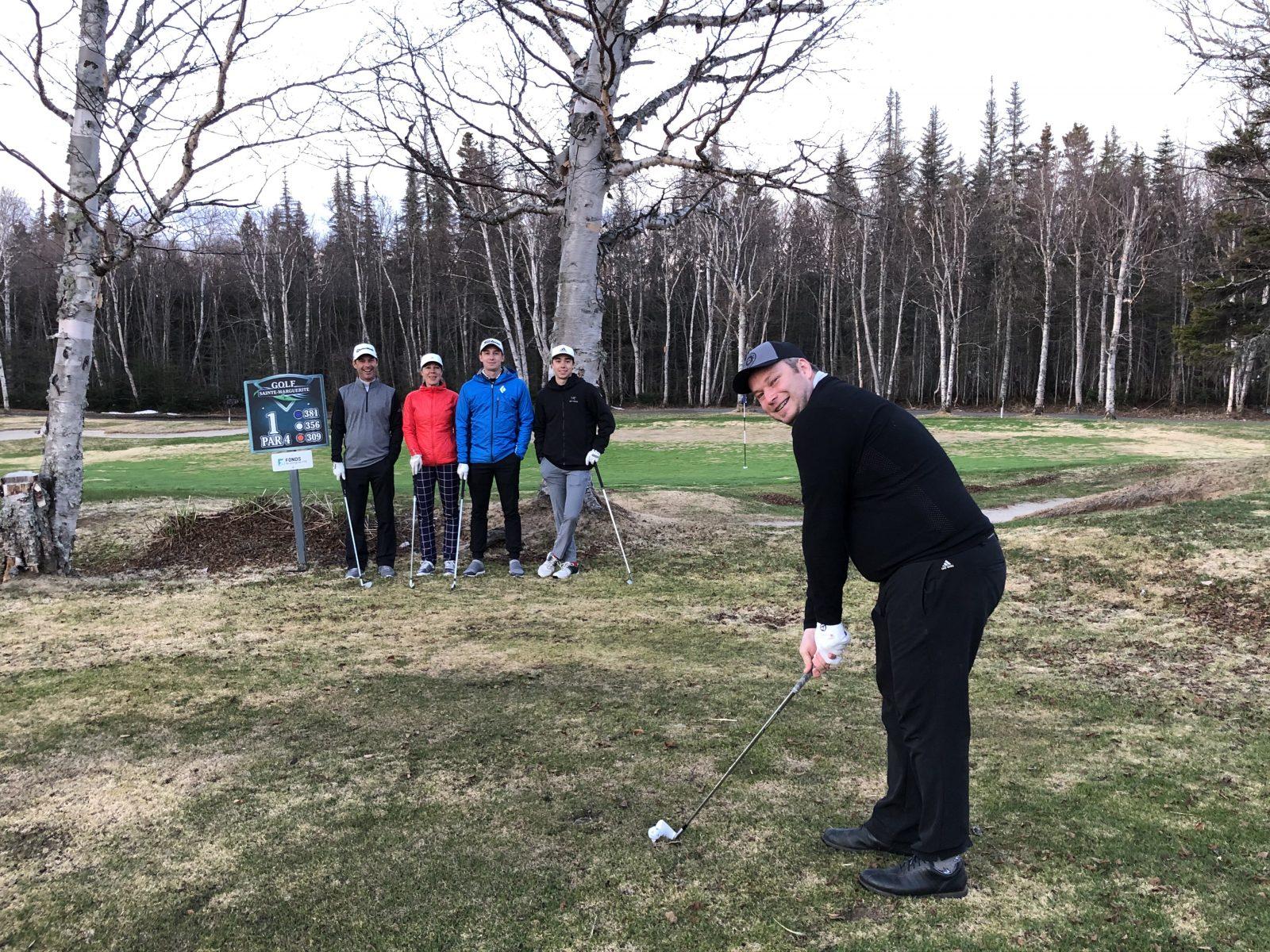 Le Club de golf Ste-Marguerite et son pro Jean-Pierre Morin lancent la  saison au Québec - Le Nord-Côtier
