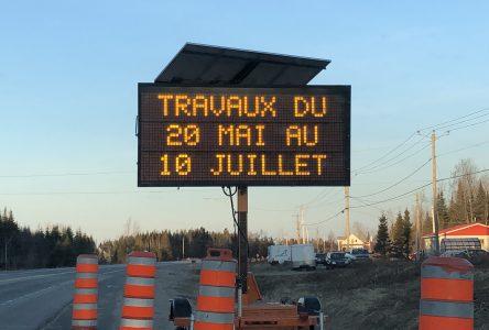 La saison des travaux routiers est lancée
