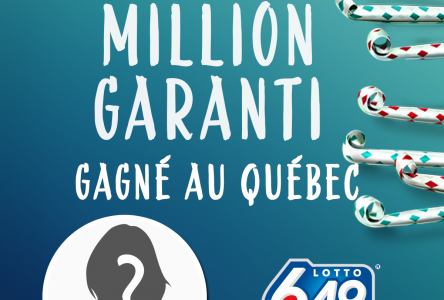 Le million garanti remporté en Minganie