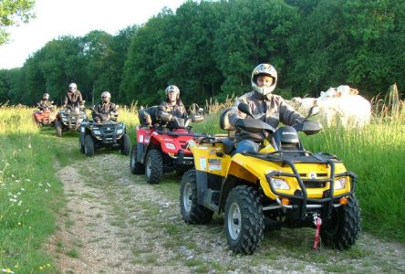 La pratique du VTT et du motocross est permise