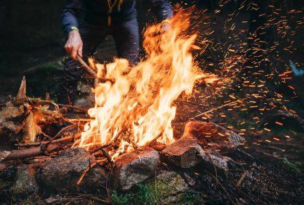 Les feux à ciel ouvert en forêt interdits