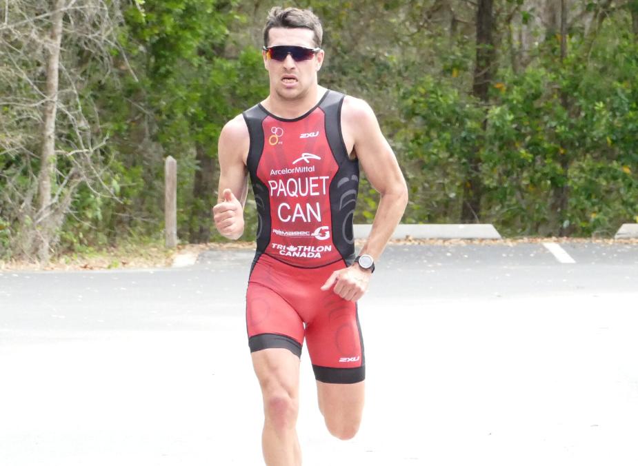 Une bourse de 4 000 $ pour le triathlète Charles Paquet