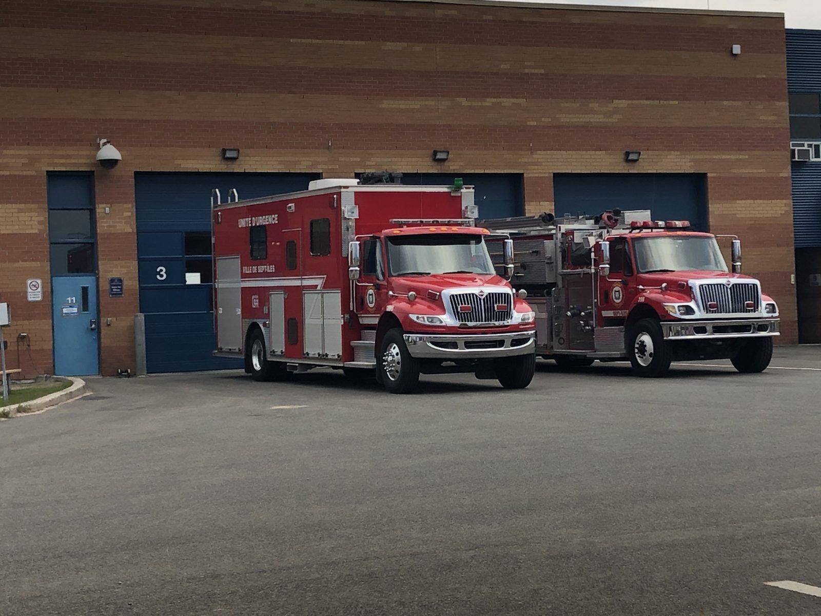 Les pompiers sauveront sur le temps d'interventions