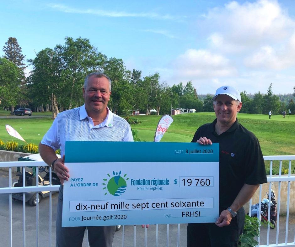 La journée de golf de la Fondation régionale Hôpital Sept-Îles payante de près de 20 000$