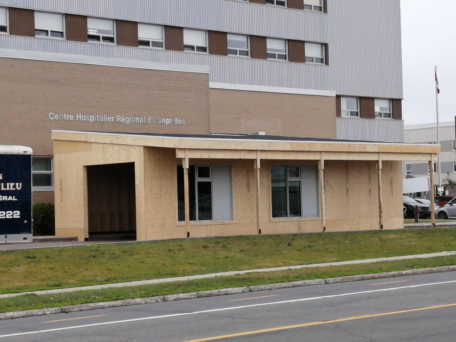 Le centre de dépistage COVID déménage