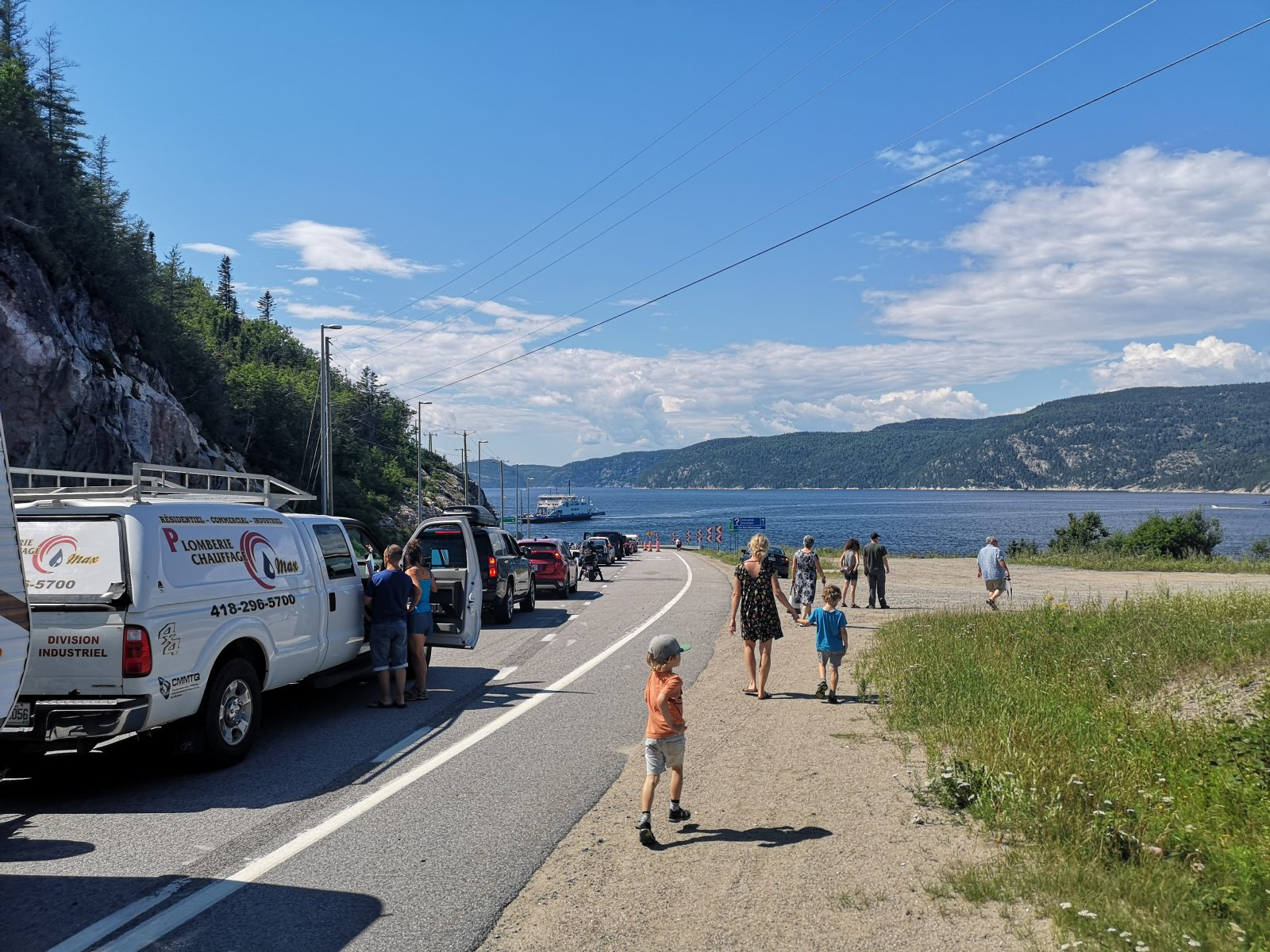 Tadoussac-Baie-Sainte-Catherine : les voies d'attente dangereuses?