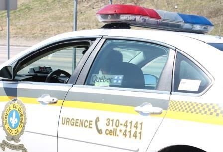 Arrestation à Port-Cartier