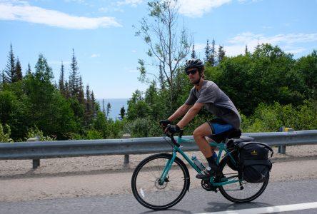 1 250 km de vélo pour venir voir la belle-famille