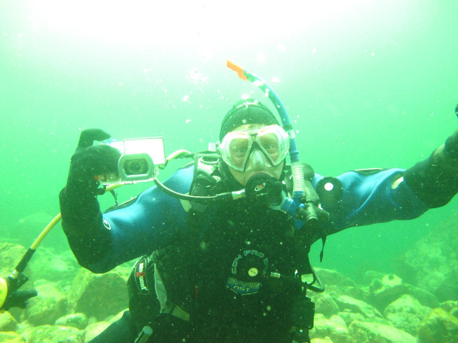 Alexandre Cantin, fasciné par l'univers marin!