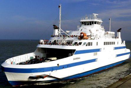(Mise à jour) Le <i>Saaremaa I</i> prend la mer en direction de Matane