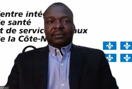 L'augmentation des cas en Haute-Côte-Nord inquiète Dr Fachehoun