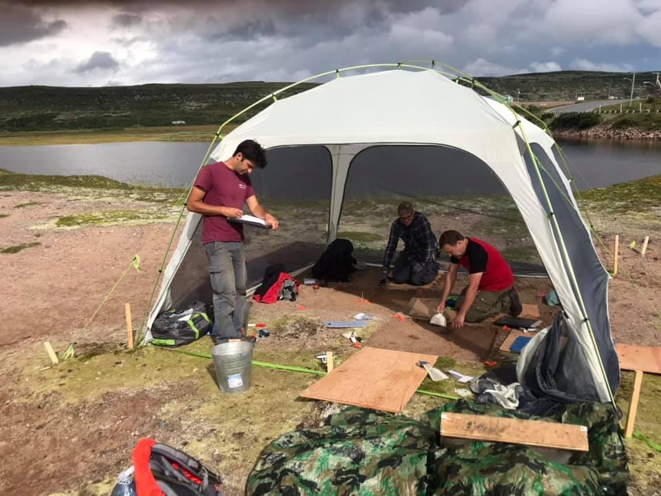 Des fouilles archéologiques à Blanc-Sablon