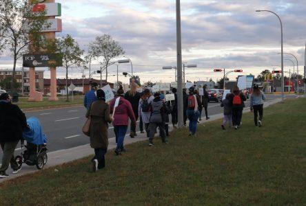 Une marche à Sept-Îles contre la violence sexuelle faite aux femmes
