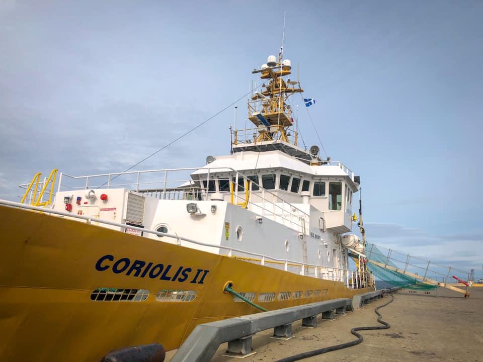 Le navire de recherche Coriolis II est à Sept-Îles